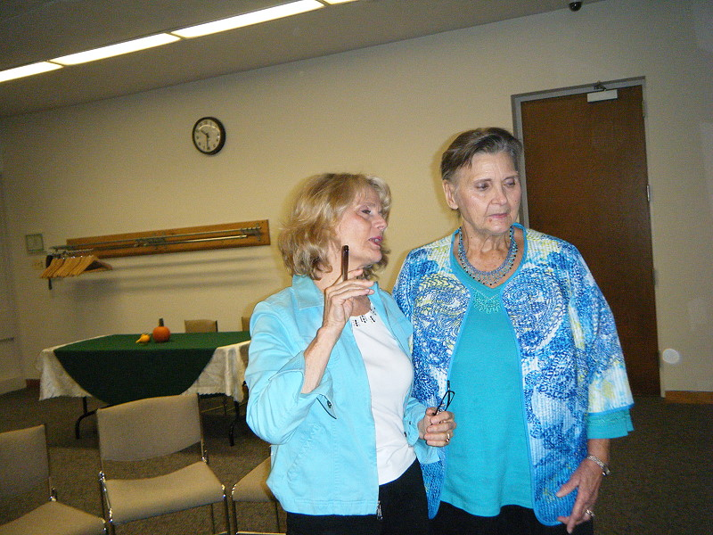 Carol Burke and Gay Shiles