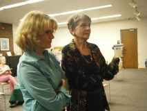 Carol Burke and Alison Burbage