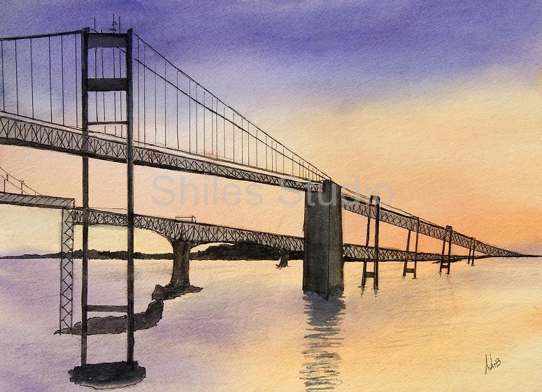 Chesapeake Bay Bridgesunset