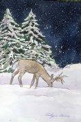 eb christmas deer