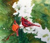 bb christmas cardinals