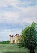 Columns In The Arboretum