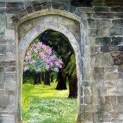 Ruins In A Garden