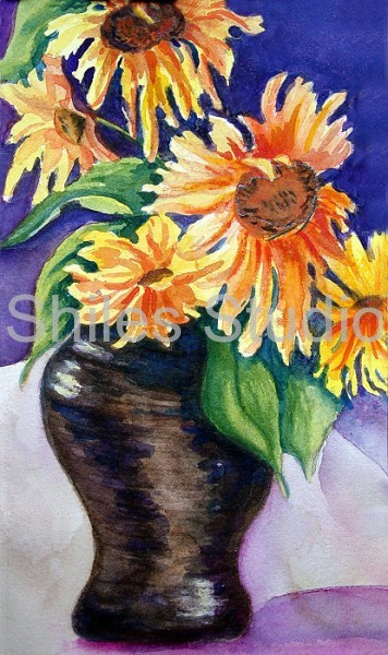 Van Gogh Daisies