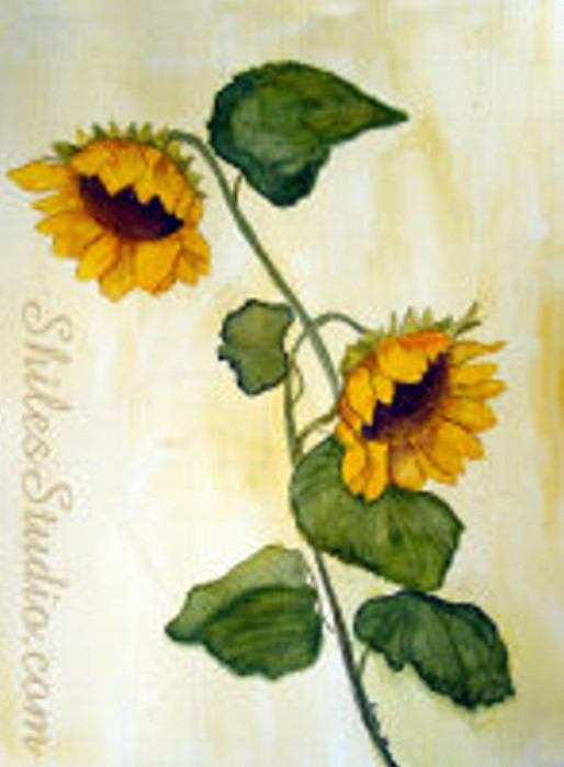 Antique Sunflowers