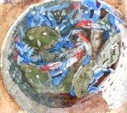 Bucket of Crabs Batik