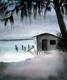 Florida Fishing Hut Storm