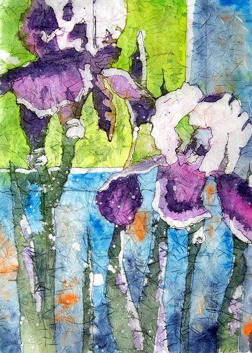 Iris Batik