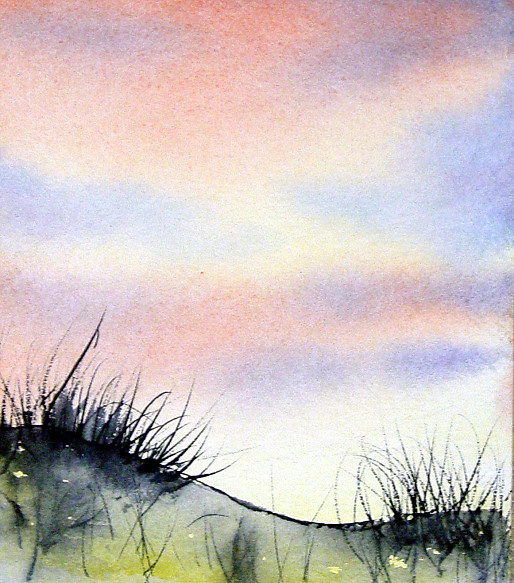 Sea Grass At Sunrise