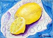 Lemons On A Doily