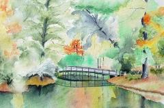 Bridge At Heron Walk