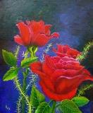 Roses In Oil