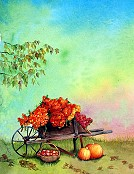 Autumn Wheelbarrow