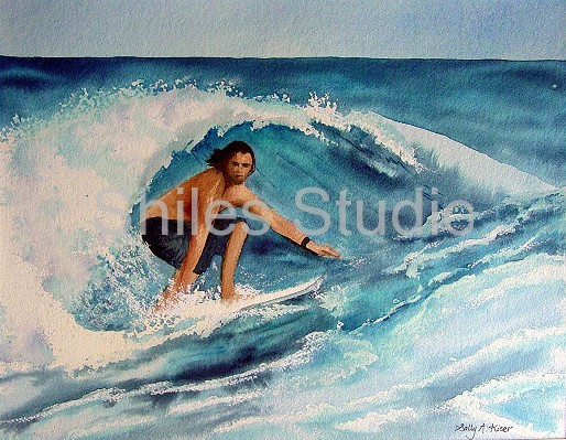 Michael Costa Rica Surf