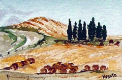 Tuscany In Fall