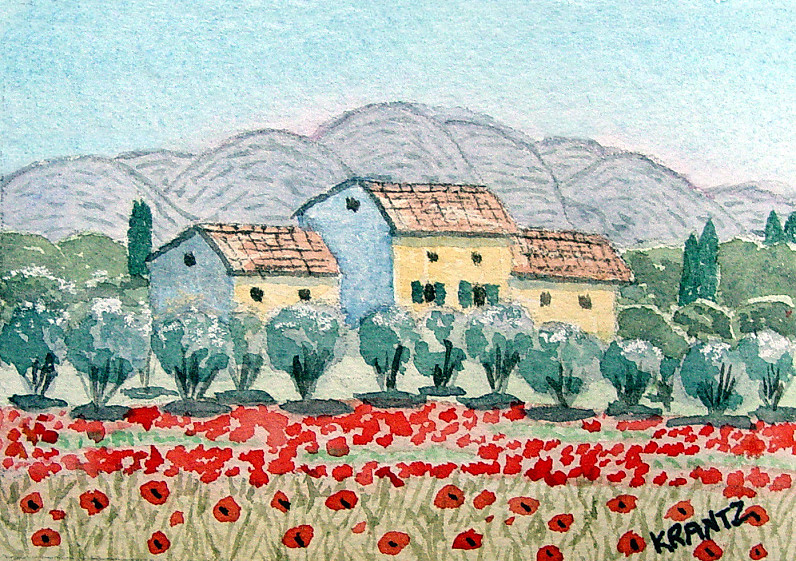 Provence In Summer