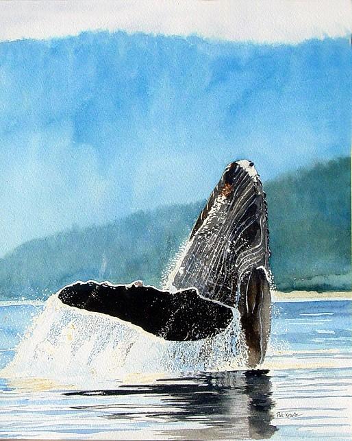 Whale Breeching