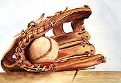 Baseball Glove Print