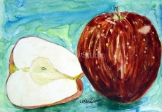 Claybord Apples
