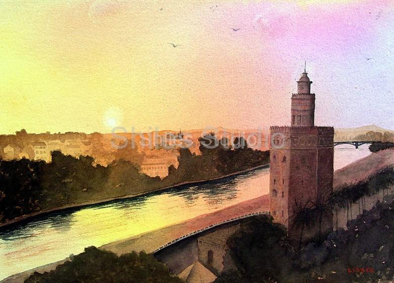 Seville Sunrise