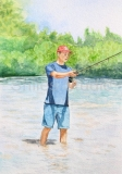 My Son Fishing