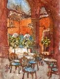 Tuscan Cafe Batik