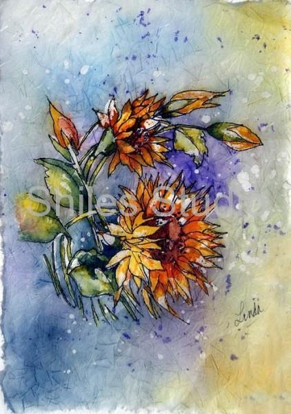 Sunflower Batik