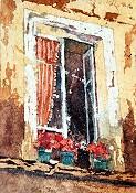 Batik Tuscan Window
