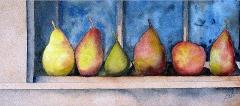 Pears On Shelf
