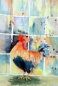 Barnyard Rooster