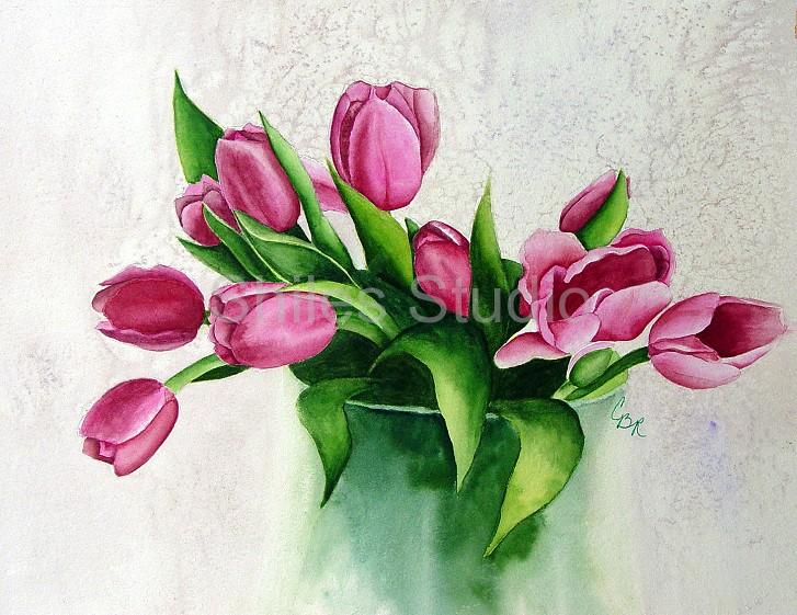 Carol's Tulips