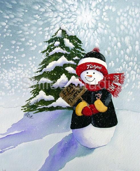 Terpy Snowman