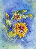 Sunflowers Batik
