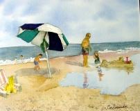 Beach And Kids