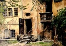 Rothenburg Courtyard