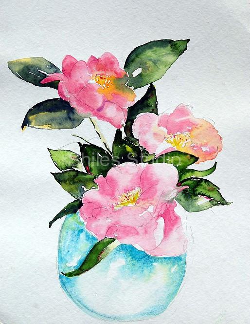 Magnolia in Vase