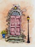 The Burgundy Door
