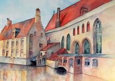 Canal In Brugge