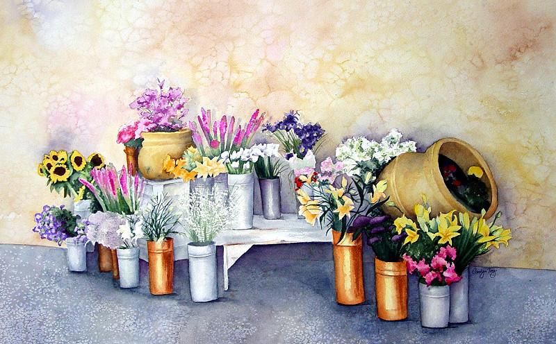 Sausalito Flower Mart