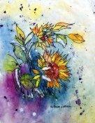 dv sunflower batik