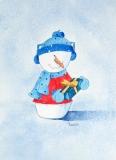 Dizzy Snowman
