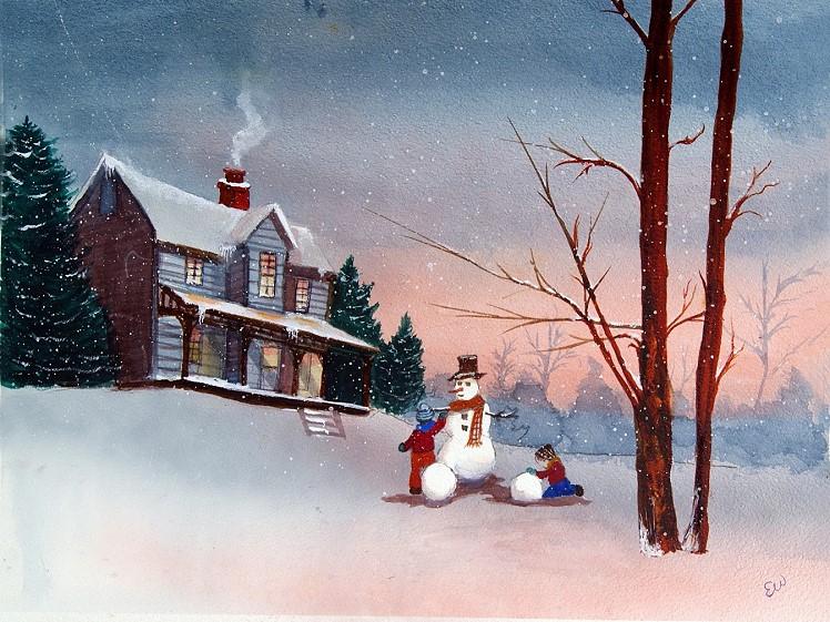 ew snowman