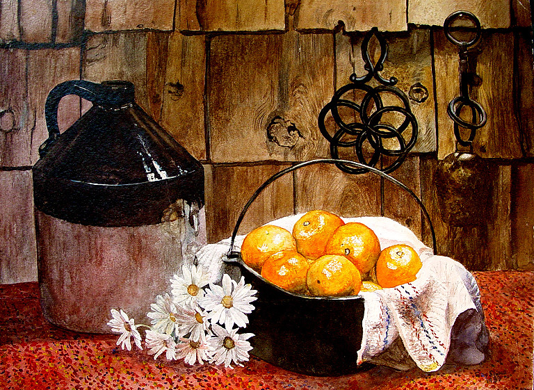 Oranges And Jug 2
