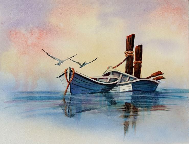 Polmochek Boat