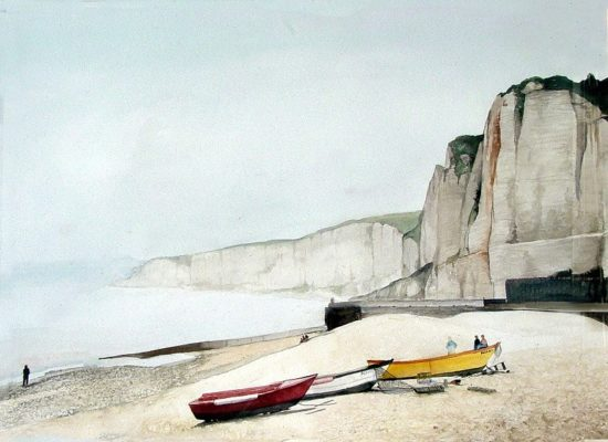 White Cliffs in France